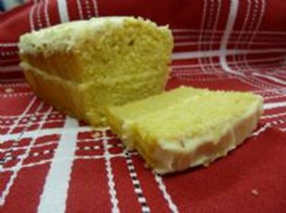 Lemon Cake Cut