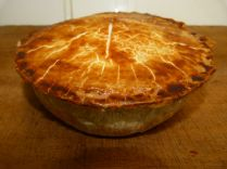Large Chicken, Gammon and Stuffing Pie