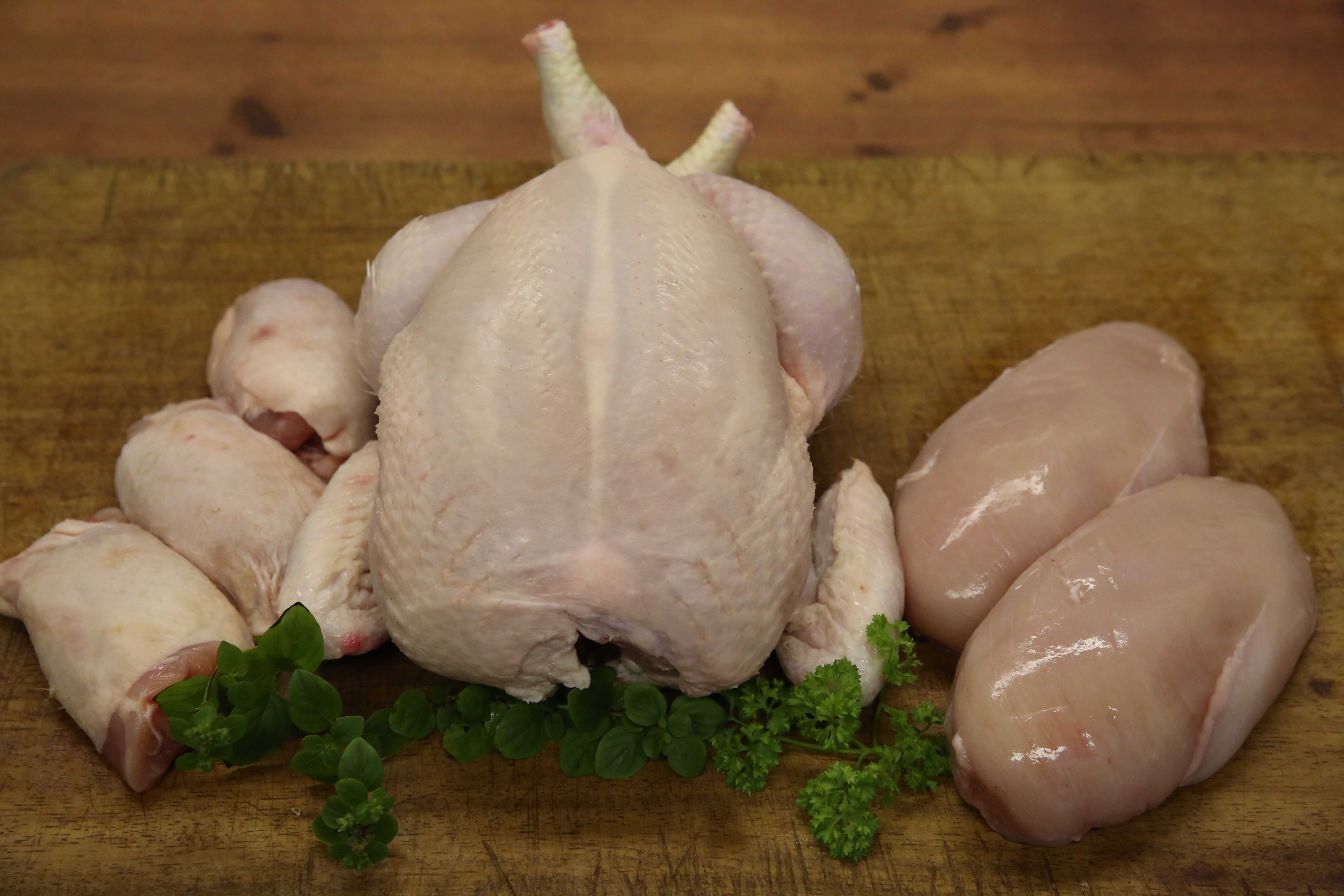 Full Chicken, Thighs and Breasts