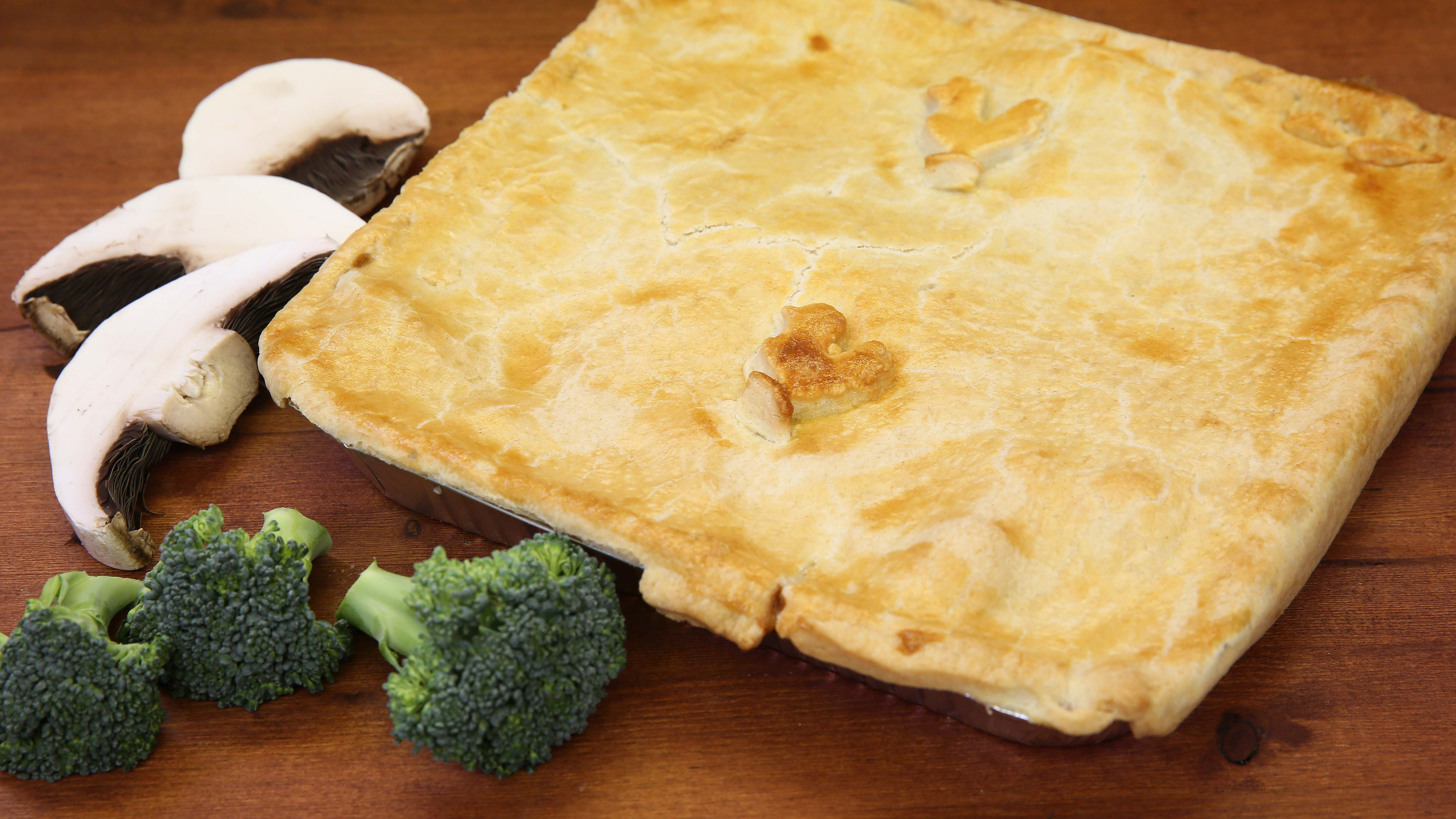 Large Homemade Chicken Pie